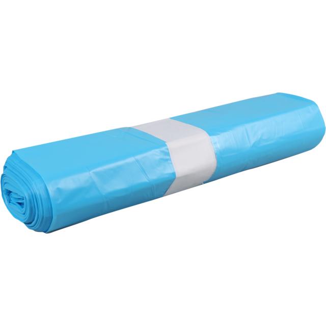 PowerSterko Afvalzak, HDPE, 140l, 80x110cm, 25my, blauw ...