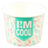 I'M Concept, IJscup, I´M a COOL cup, Karton/Coating, 150ml, 6oz, 51mm, wit